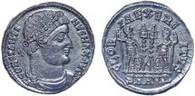 Ancient Coins - Constantine I AE follis – Two soldiers – EF