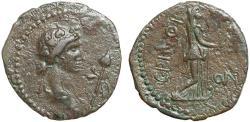 Ancient Coins - Thrace. Perinthus pseudo-autonomous coinage under Claudius or Nero AE24 – Dionysos/Hera