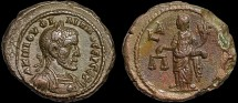 Ancient Coins - Philip I billon tetradrachm, Alexandria, Egypt – Dikaiosyne – Scarce, good style