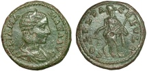 Ancient Coins - Julia Mamaea AE24. Deultum. Thrace – Nemesis