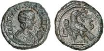 Ancient Coins - Tranquillina billon tetradrachm, Alexandria, Egypt – Eagle