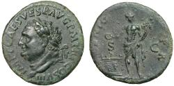 Ancient Coins - Titus AE As – Genius