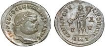 Ancient Coins - Diocletian AE follis – Genius – EF