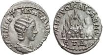 Ancient Coins - Tranquillina AR drachm; Caesarea. Cappadocia – Mt. Argaeus – Good metal for type; nice portrait