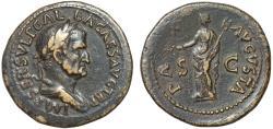 Ancient Coins - Galba AE dupondius – Pax – Good portrait
