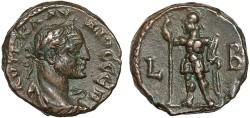 Ancient Coins - Claudius II Gothicus billon tetradrachm, Alexandria, Egypt – Ares – Rare