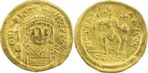 Ancient Coins - BYZANTINE EMPIRE: Justin II, 565-578, AV solidus (19mm, 4.40g), Constantinople,