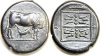 ILLYRIA, Dyrrhachion. Circa 340-280 BC. AR Stater