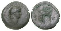 Ancient Coins - Nero. A.D. 54-68. AE Sestertius (23.80, 34.6 mm). Thracian mint, struck ca. A.D.