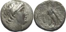 SELEUKID KINGS. Antiochos VII Euergetes (Sidetes). 138-129 BC. AR Tetradrachm (27mm, 13.1 gm)