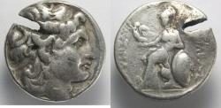 Ancient Coins - KINGS of THRACE. Lysimachos. 305-281 BC. AR Tetradrachm (16.05 gm, 29 mm)