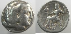 Ancient Coins - Macedon, Kings of. Alexander III. 336-323 BC. AR Tetradrachm (16.71 gm, 26 mm)