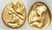 Ancient Coins - ACHAEMENID PERSIA. Time of Xerxes II-Artaxerxes II (ca. 420-375 BC). AV daric