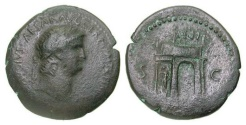 Ancient Coins - Nero. A.D. 54-68. AE Sestertius (23.80, 34.6 mm). Thracian mint, struck ca. A.D.