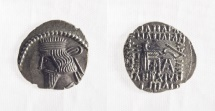 KINGS of PARTHIA. Artabanos III. Circa AD 10-38. AR Drachm (20mm, 3.7 gm)