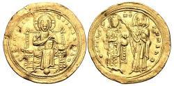 Ancient Coins - Romanus III Argyrus. 1028-1034. AV Histamenon Nomisma (24.5mm, 4.41 g, 6h).