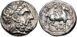 Ancient Coins - KINGS of MACEDON. Kassander. As Regent, 317-305 BC, or King, 305-298 BC. AR Tetradrachm
