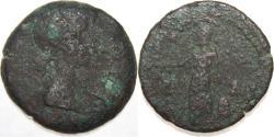Ancient Coins - Roman Provincial Egypt, Alexandria. Livia. Augusta, A.D. 14-29. AE 24 diobol (24.24 mm, 8.01 g, 1 h)