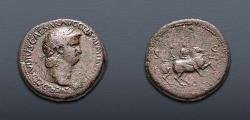 Ancient Coins - Nero. AD 54-68. Æ Sestertius (33mm, 27.44 g, 1h). Rome mint. Struck circa AD 64.