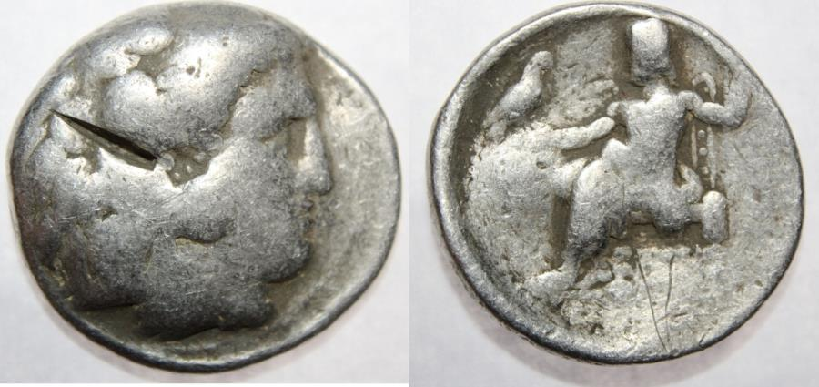 Ancient Coins - Macedon, Kings of. Alexander III. 336-323 BC. AR Tetradrachm (16.63 gm, 28 mm).