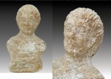Large Ancient Roman, Marble Bust of a Man c.2nd 3rd century AD