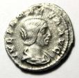 Ancient Coins - JULIA DOMNA, mother of Caracalla. AR Denarius (20mm, 3.04 gm). Struck 211-217 AD.