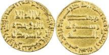 ABBASID: al-Mansur, 754-775, AV dinar (18mm, 4.03g), NM, AH140, A-212, EF.