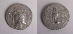 Ancient Coins - ATTICA, Athens. Circa 165-42 BC. AR Tetradrachm (35mm, 16.3 gm). New Style coinage.