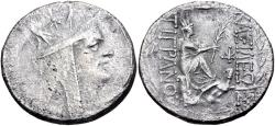 Ancient Coins - KINGS of ARMENIA. Tigranes II 'the Great'. 95-56 BC. AR Tetradrachm (26.5mm, 14.93 g, 12h).