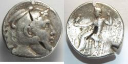 Ancient Coins - Macedon, Kings of. Alexander III. 336-323 BC. AR Tetradrachm (16.90 gm, 27mm).