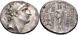 Ancient Coins - SELEUKID EMPIRE. Antiochos VIII Epiphanes (Grypos). 121/0-97/6 BC. AR Tetradrachm