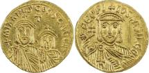 BYZANTINE EMPIRE: Theophilus, 829-842, AV solidus (20mm, 4.36g),