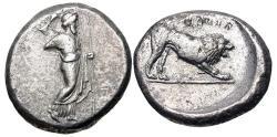 Ancient Coins - SATRAPS of CARIA. Hekatomnos. Circa 392/1-377/6 BC. AR Tetradrachm (23mm, 14.57 g, 2h).