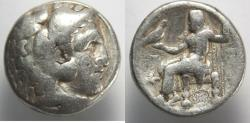 Ancient Coins - Macedon, Kings of. Alexander III. 336-323 BC. AR Tetradrachm