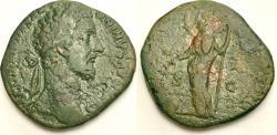 Ancient Coins - COMMODUS. 180-192 AD. Æ Sestertius (21.35 gm, 31mm).