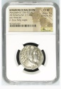 Ancient Coins - MACEDONIAN KINGDOM. Alexander III the Great (336-323 BC). AR tetradrachm NGC Cer
