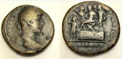 Ancient Coins - Lucius Verus. AD 161-169. Æ Sestertius (31mm, 21.56 g). Rome mint.