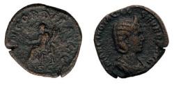 Ancient Coins - Otacila Severa Æ Sestertius AD 248 .