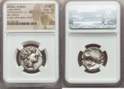 Ancient Coins - ATTICA. Athens. Ca. 440-404 BC. AR tetradrachm (17.14 gm). NGC Choice XF