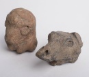 Lot of 2 Ancient Near Eastern Terracotta Animals c.600 BC.