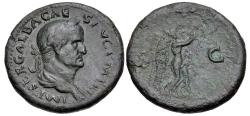 Ancient Coins - Galba. AD 68-69. Æ Sestertius (34.5mm, 24.05 g, 6h). Rome mint, 2nd officina.