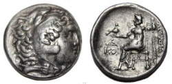 Ancient Coins - Alexander III. 336-323  BC. AR Tetradrachm (16.6  gm, 29 mm)