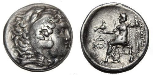 Ancient Coins - Alexander III. 336-323  BC. AR Tetradrachm (16.6  gm, 29 mm)