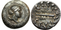 Ancient Coins - MACEDON, Under Roman Rule. First Meris. Circa 167-148 BC. AR Tetradrachm (32mm, 16.6 gm).