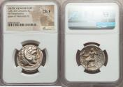Ancient Coins - CELTIC OR NEAR EAST. Ca. 4th-3rd Centuries BC. AR tetradrachm (26mm, 1h). NGC
