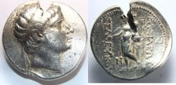 Ancient Coins - SELEUKID EMPIRE. Seleukos II Kallinikos. 246-225 BC. AR Tetradrachm (29mm, 17.19 gm).