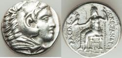 Ancient Coins - MACEDONIAN KINGDOM. Alexander III the Great (336-323 BC). AR tetradrachm