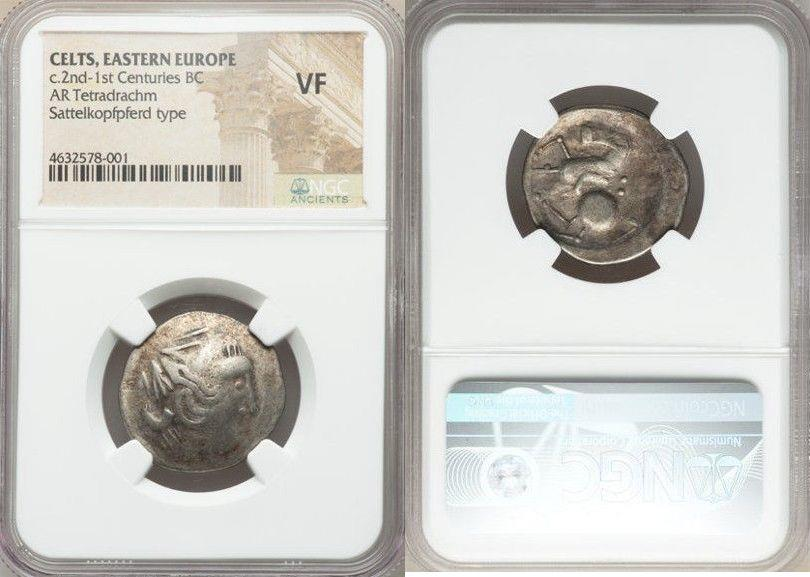 Ancient Coins - EASTERN EUROPE. Imitations of Philip II of Macedon. Ca. 2nd century BC. AR tetradrachm