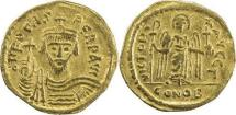 BYZANTINE EMPIRE: Phocas, 602-610, AV solidus (20mm, 4.29g), Constantinople
