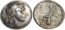SELEUKID KINGS. Antiochos III 'the Great'. 223-187 BC. AR Tetradrachm